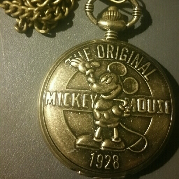 Disney Other - 90th anniversary Disney pocket watch